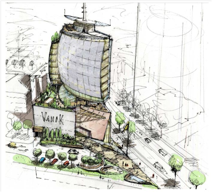 Proyecto Vanak Shopping Center